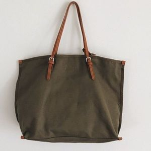 "Carly Jean Los Angeles Olive ""Morrison"" Tote"